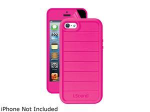 ISOUND ISOUND-5341 iPhone(R) 5/5s 3-In-1 Duraguard Case (Pink)