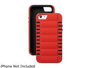 ISOUND ISOUND-5281 iPhone(R) 5/5s 3-In-1 Smart Shield(TM) Case (Red/Black)