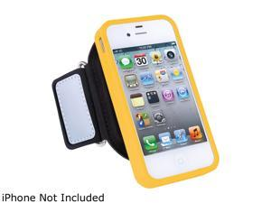 ISOUND ISOUND-5243  Sport Pro Armband compatible with iPhone 4/4S ,Black/Yellow