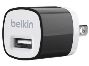 BELKIN Black MIXIT Home Charger (5 Watt/1 Amp) F8J017ttBLK