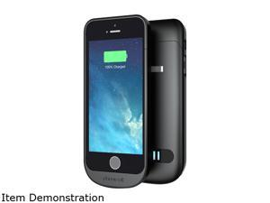 PhoneSuit Elite 2100mAh Battery Hard Case Cover Bundle For Apple iPhone 5S 5 OEM - Black