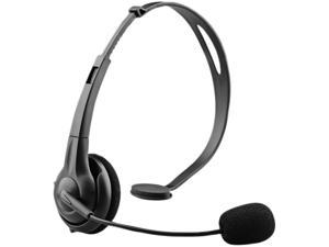 NoiseHush NX70 Crystal Clear Multimedia Headset - Black (NX70-11825)