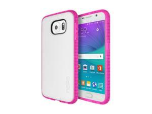 Incipio Octane Carrying Case for Samsung Galaxy S6 - Frost/Neon Pink