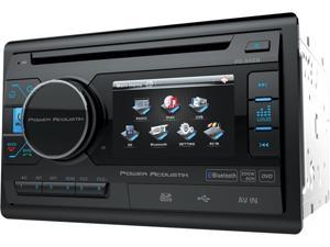 "Power Acoustik PD-342B Double DIN Bluetooth In-Dash DVD/AM/FM Receiver w/ 3.4"" LCD Display"