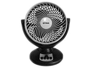 Optimus 8 in. Fan Oscillating Turbo High Perfor - Black Gray - F7098