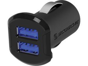 Scosche reVOLT 12W + 12W Dual USB Car Charger for iPod, iPhone and iPad