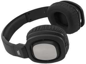JBL J88 Premium Over-Ear Headphones with JBL Drivers and Rotatable Ear-Cups - Black