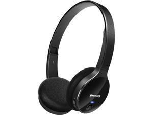 Philips Bluetooth Stereo On-Ear Black Headphone SHB4000/BK with microphone