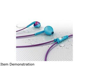 Philips SHQ1200PP ActionFit Sports In Ear Headphones - Purple