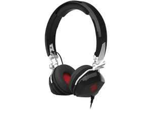 Mad Catz Gloss Black F.R.E.Q. M Stereo Gaming Headset with Smart-Device In-Line Controller - MCB4340400C2-02-1
