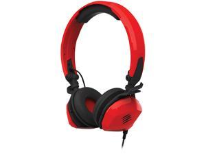Mad Catz Red F.R.E.Q. M Stereo Gaming Headset with Smart-Device In-Line Controller - MCB434040013-02-1