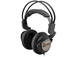 NoiseHush Nx22R 3.5mm Stereo Headphones w/In-Line Mic - Wood