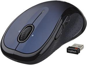 Logitech M510 910-002533 Blue 7 Buttons Tilt Wheel RF Wireless Laser 1000 dpi Mouse