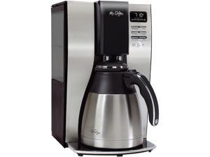 Mr. Coffee Optimal Bre 10-Cup Programmable Coffee Maker with Thermal Carafe, BVMC-PSTX91-RB