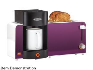 BELLA BLA14082 Toast and Brew Breakfast Station, Purple