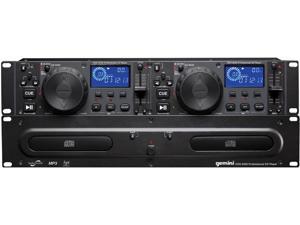 GEMINI CDX-2250 2U Dual Rack-Mount Nightclub CD/MP3 Player