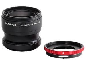 OLYMPUS V321180BW020 Telephoto Tough Lens Pack TCON-T01 & CLA-T01 Adapter