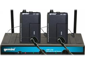 Gemini UHF216M Dual-Channel Wireless System