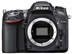 Nikon D7100 Camera w/18-55 VR& 55-300 VR Lenses, Wirless Adapter, SD Card, Case