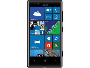 Nokia 720 Black 3G Windows Phone 8 Dual-Core 1GHz 8GB 6.1MP Camera Unlocked GSM Cell Phone - OEM