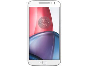 Moto G4 Plus (4th Gen.) 64GB Smartphone (Unlocked, White) - US Warranty