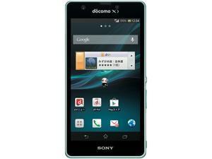 Sony Xperia ZR SO-04E 32GB Unlocked GSM Quad-Core 4G LTE Android Phone w/ 13.1 MP Camera - Mint