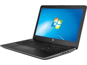"HP ZBook 15 G3 (V2W10UT#ABA) Mobile Workstation Intel Core i7 6700HQ (2.60 GHz) 16 GB Memory 512 GB SSD NVIDIA Quadro K1000M 15.6"" Windows 7 Professional 64-Bit (available through downgrade rights fro"