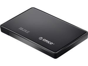 "ORICO 2588US-BK Tool Free 2.5"" SATA to USB 2.0 External Hard Drive Enclosure"