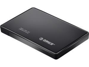 "ORICO 2588US-BK Tool Free 2.5"" SATA to USB 2.0 External Hard Drive Enclosure"
