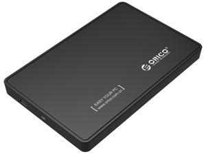 ORICO Portable Tool Free 2.5 inch SATA to USB2.0 External Hard Drive Enclosure-Black(2588US)