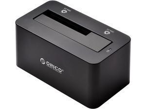 "Orico 6619US3-BK  5Gbps Super Speed USB3.0 to 2.5"" & 3.5"" SATA Hard Drive SSD / HDD Docking Station (Black)"