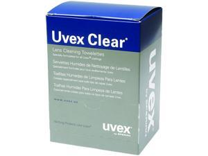 Uvex S468 Individually Wrapped Lens Cleaning Towelettes Box/100