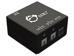 SIIG CE-TS0011-S1 1x2 S/PDIF TOSLINK Digital Audio Splitter