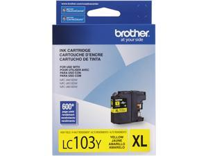 brother Innobella LC103Y High Yield (XL Series) Ink Cartridges Yellow