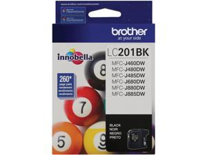 Brother LC201BK Innobella Ink Cartridge (260 Page Yield)&#59; Black
