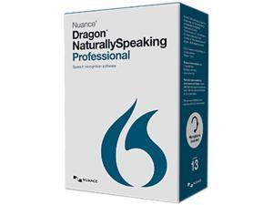 Nuance A209A-FN9-13.0 Nuance Dragon NaturallySpeaking v.13.0 Professional Wireless - 1 User - Voice Recognition - Academic Box - DVD-ROM - PC - English