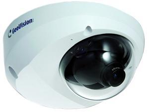 GeoVision GV-MFD520 5MP H.264 Build-In Microphone and Micro SD card Slot PoE IP Dome Camera