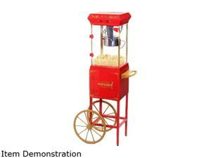 Popcorn Trolley Red and Gold