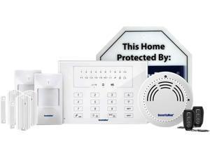 SecurityMan AIR-ALARMIIDL Wireless Smart Home Alarm System-Deluxe Kit White