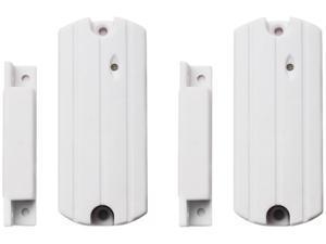 SecurityMan SM-87L-2PK Add-on 2piece  wireless smart door window sensors White