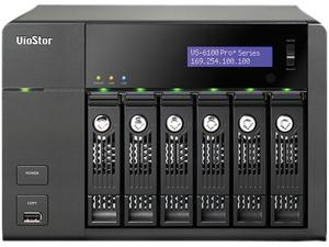QNAP VS-6112-PRO+-US 6 Bay 12CH, VMS Built-In, 330Mbps Megapixel Recording IP Surveillance NVR