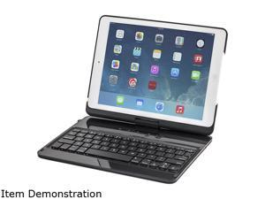 Devicewear 360 Degree Rotating Swivel Ultra Slim Bluetooth Keyboard Case, Multiple viewing Case/Stand for iPad Air/iPad 5