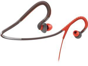 Philips ActionFit SHQ4200/28 Neckband Earbuds Sports Headphones (Orange/Grey)