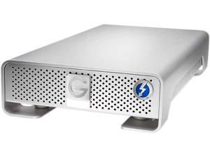 G-Technology G-DRIVE 6TB USB 3.0 / Thunderbolt Desktop External Hard Drive 0G04023 Silver
