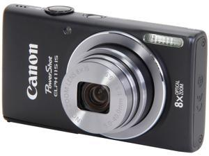 Canon PowerShot ELPH 115 IS 8599B001 Black 16 MP 28mm Wide Angle Point & Shoot