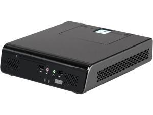 In-Win K2 STANDARD Thin Mini-ITX Black case with monitor arm and 120W power adapter, heat sink