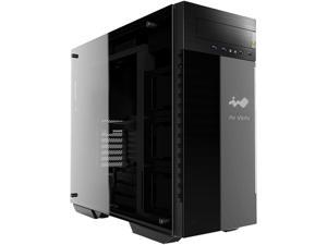 IN WIN 509 Black/Grey SECC / Tempered Glass ATX Full Tower Computer Case ATX PS2 / EPS 12V Power Supply