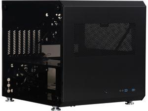 LIAN LI PC-V33WX Black Aluminum ATX Mid Tower Computer Case ATX PSU (not included) Power Supply