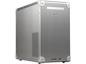 LIAN LI PC-TU300A Silver Aluminum ATX Mid Tower Computer Case ATX (not included) Power Supply