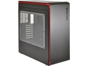 LIAN LI PC-J60WRX Black/Red Aluminum ATX Mid Tower Computer Case ATX (Optional) Power Supply